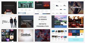 Cardinal - WordPress Theme by SwiftIdeas