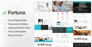 Fortuna - Responsive Multi-Purpose WordPress