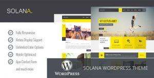 Solana - Responsive Multipurpose WordPress Theme by iWebStudio